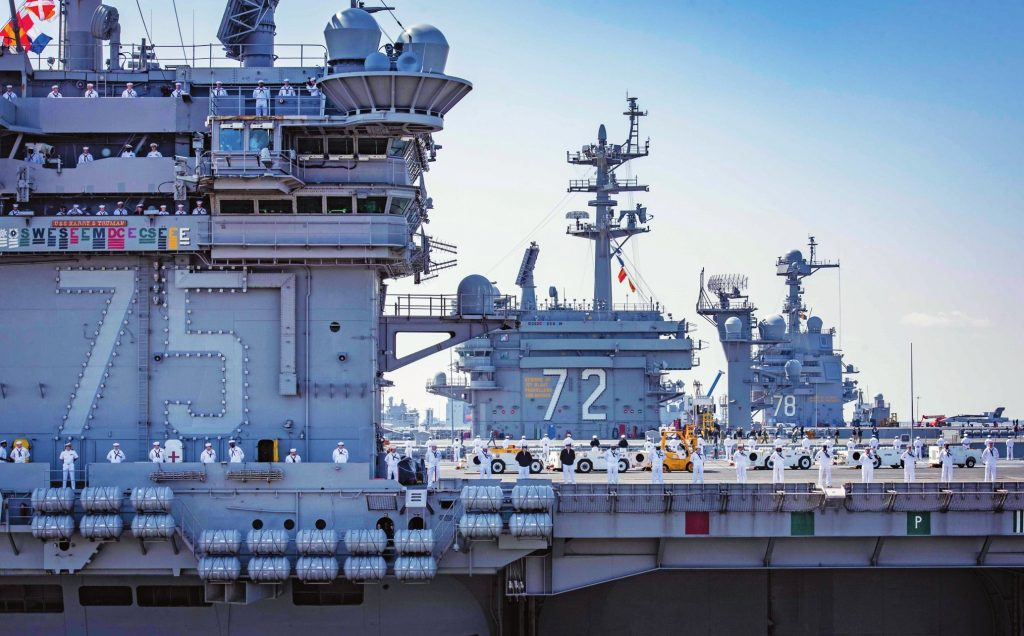 Aircraft Carriers Homeport NSN | Naval Station Norfolk Base ...